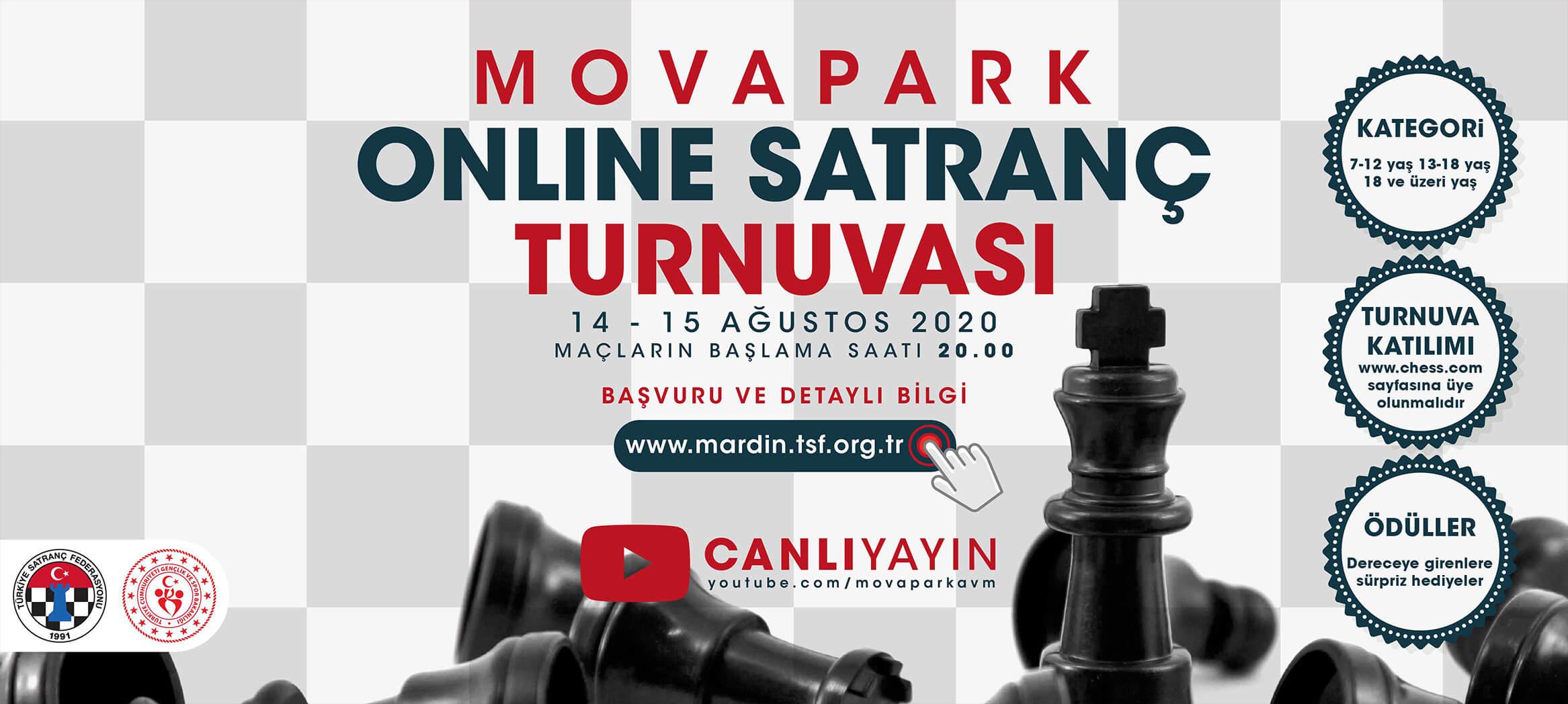 Movapark Online Satranç Turnuvası