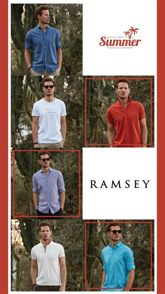 Yaz Sezonu Ürünleri RAMSEY'de!
